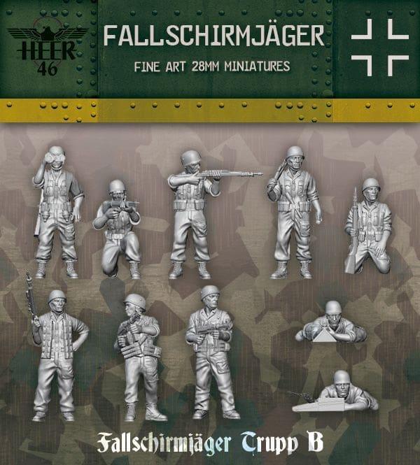 Bolt Action Fallschirmjäger in Italy 1943-45