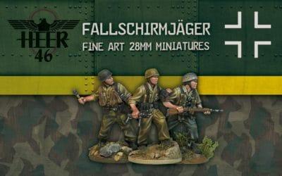 Nuevo Kickstarter de Heer46: Fallschirmjäger in Italy 1943-45