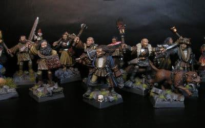 Cazadores de Brujas para Mordheim, ¡banda completa!