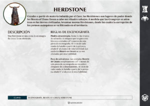 Tarjetas de Warscrolls Legion of Azgorh (Enanos del Caos)