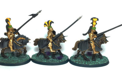 Caballeros del sol llameante Warhammer