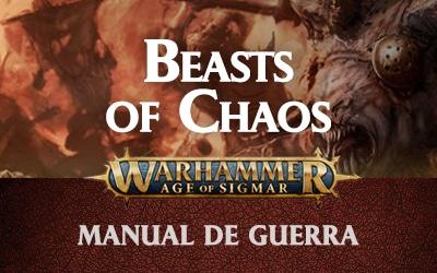 Beasts of Chaos – Manual de guerra