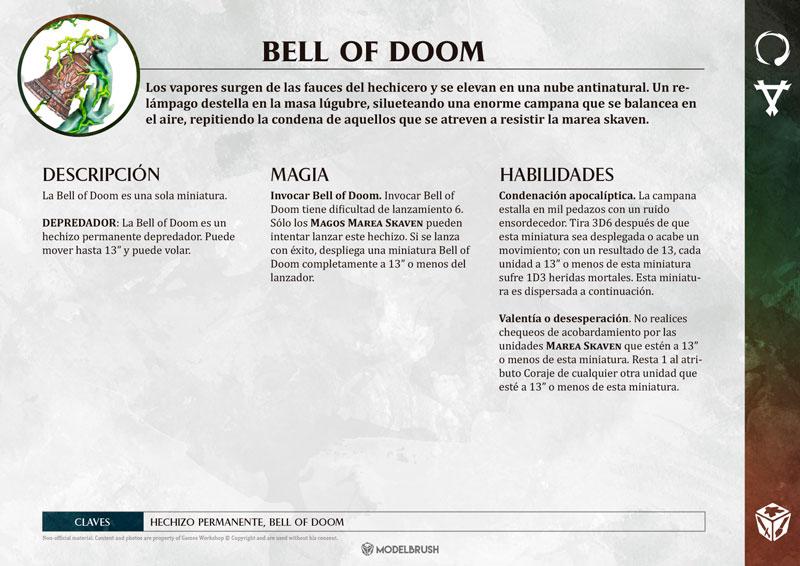 Tarjetas de Warscrolls Skaven -  de Age of Sigmar