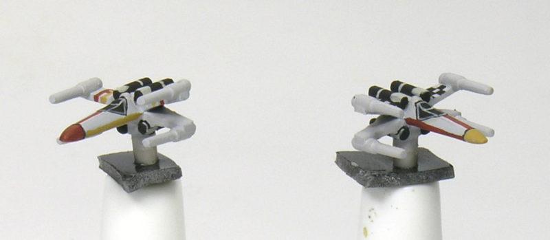 Star Wars Armada - Como pintar escuadrones de X-wing