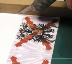 Cómo hacer banderas para miniaturas de wargames