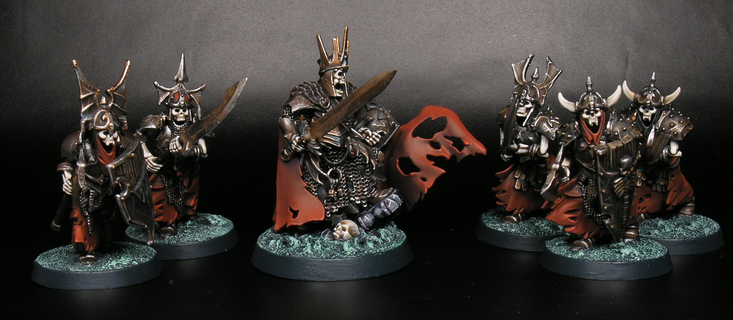 Trucos para pintar rojo con guardia tumularia de Warhammer Age of Sigmar