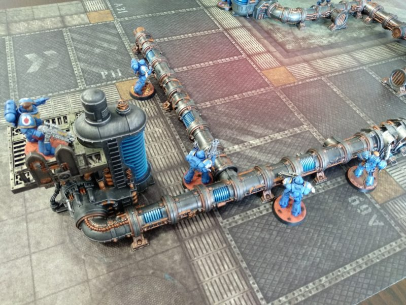 Tapete warhammer Kill Team de Combate Urbano