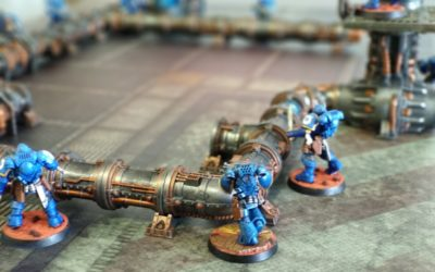 Warhammer Kill Team: tapete de combate urbano