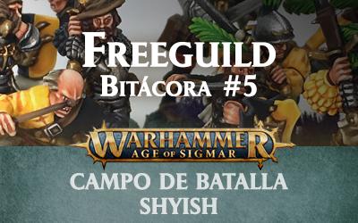 Campo de Batalla: Shyish – Freeguild #5