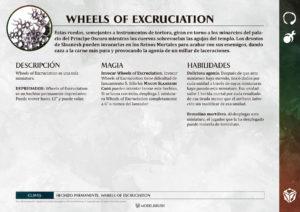 Tarjetas de Warscrolls Hedonites of Slaanesh para Age of Sigmar
