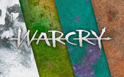 Tapetes de lona para Warcry