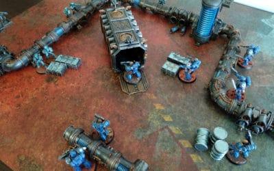 Warhammer Kill Team: tapete de Mundo Forja