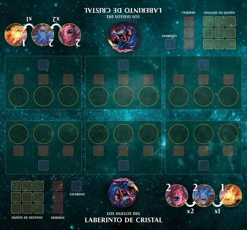 Duelos del laberinto de Cristal