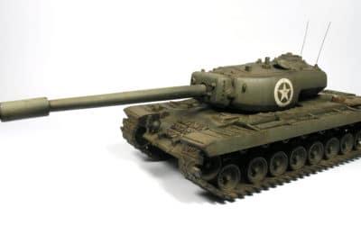 Tanque americano T34 para Bolt Action