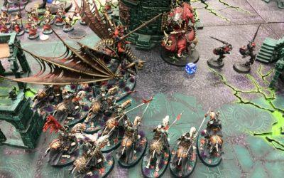 AoS: Legiones de Nagash vs Garrapatos