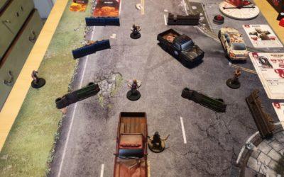 The Walking Dead: All Out War. Partida en solitario.