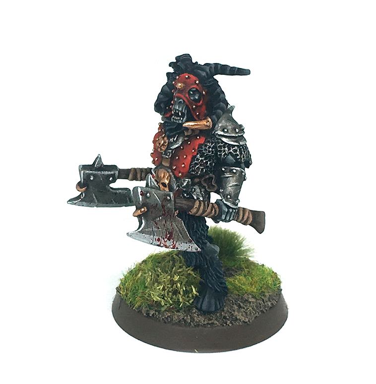 Hombre Bestia Warhammer - Beastmen Chief age of Sigmar