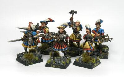 Mordheim – Repintando mi banda de Marienburgo
