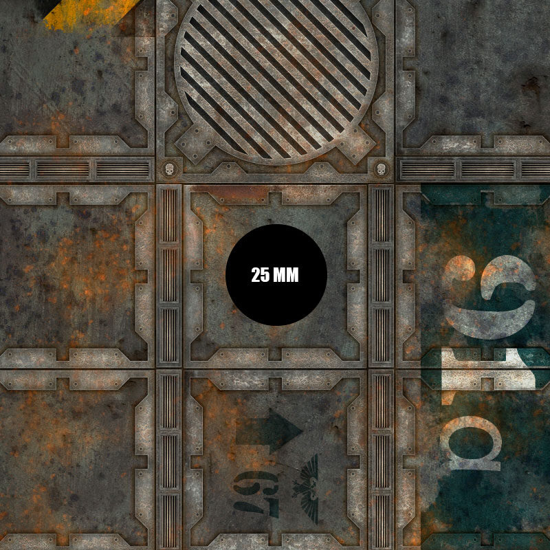 Tapete Necromunda para Warhammer 40000