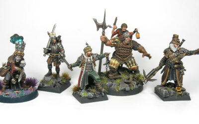 Aventureros para Mordheim
